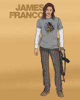 James Franco by Gait44