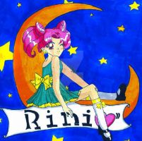 rini on the moon by YuniNaoki