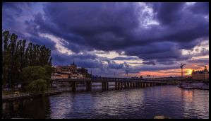 Stockholms sunset X by PaVet-Photography