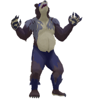 Bearanin the Werebear by pikminpedia