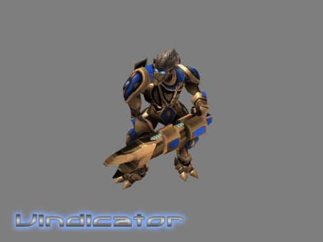 Protoss Vindicator by GhostNova91