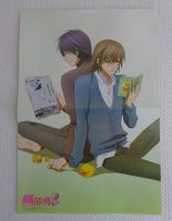 Junjou Egoist poster from Pash! by Gallade007