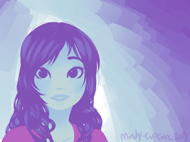 there was a color pallet and i draw this by Mindy-cupcake