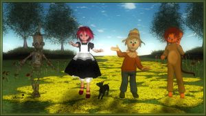 The wizard of Oz by mininessie66