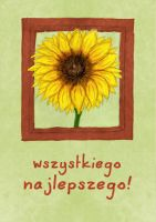 sunflower postcard by CargoDesign