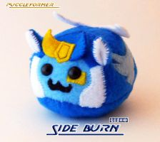 Puggleformer - TFCC Side Burn by callykarishokka