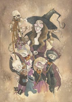 Children of the Witch 2013 by GrisGrimly