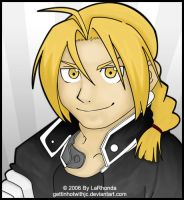 Edward Elric by MissKingdomVII