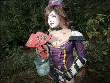 Mad Moxxi BL2 by Hinata-chaan