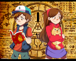 Gravity Falls by vanille913