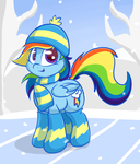 Dash's Winter Ver.2 by LyricBrony