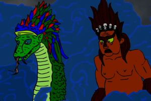 Quetzalcoatl and Yama