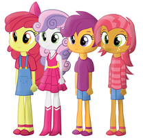 Equestria Girls animation puppet by CookeyKoopa
