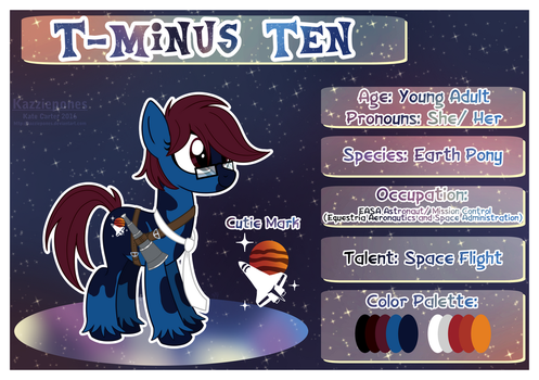 [COM] T-Minus Ten Profile by Kazziepones