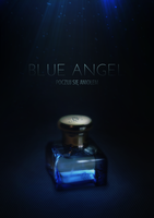 Blue angel by Idered