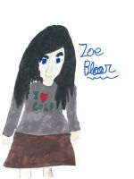 Zoe Bloor -coloured- by FallenTributes