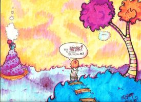 Balloons and Dr. Seuss by turp