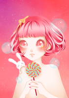 Psychedelic Candy by Himishi