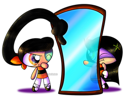PC- Bamboo and Trance...Mirrors? by Brashgirl901