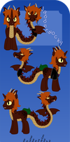:PC: Jabberwocky Reference Sheet by Chumi-chan