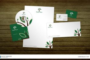 Petek Tarim Logo and Corporate by grafiket