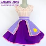 Rapunzel Tangled Disneybound Cosplay Skirt by DarlingArmy