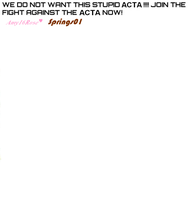 No ACTA by SpringsTS