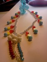 Rainbow Dash Inspired Necklace by CorterMoon