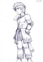 sketch - RO Shura male by nasrul-ds3