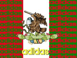 adidas Mexico 2 by hedgiee