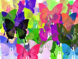 Butterfly Overload by DracosDerpyHoof