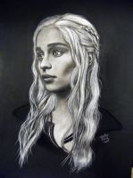 Daenerys Targaryen by ADRIANSportraits