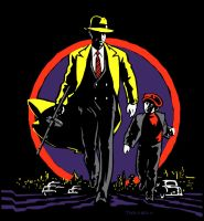Dick Tracy by Trozzbozz