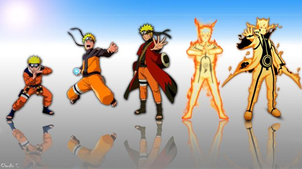 Evolution final Naruto by SClaudiu