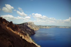 Crater Lake by ContagiousPixie