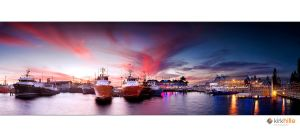 Fremantle Fishing Boat Harbor by Furiousxr