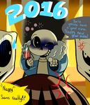 Undertale New Years picture by ReneesDetermination