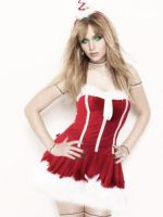 Jennifer Lawrence Christmas Mannequin by Bluemargay