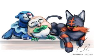 Starters by lizzybepainting