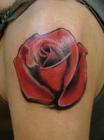 simple rose by scottytat2
