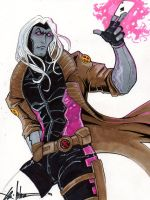 Gambit death by ChrisOzFulton