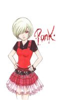 Punk Girl by LucineHellinson