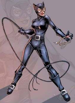Catwoman Color by logicfun