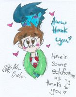 Ectofeature thank you! by Kittychan2005