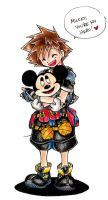 Mickey, You're My Hero by yii