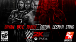 WWE 2K15 Wallpaper by A-XDesigner