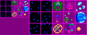 PixelChallengeOfTheDay - Day 008 - Space by noblekale