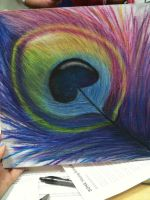 Peacock Feather by rabidmaple