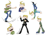 Jimmy Two Shoes_Poses_Expressions by Doodlz18