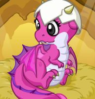 me as a baby dragon by booxlacy